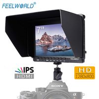 Feelworld 7 IPS Ultra thin Design 1280x800 HD HDMI On Camera Field Monitor with Peaking Focus Portable LCD Monitor FW759