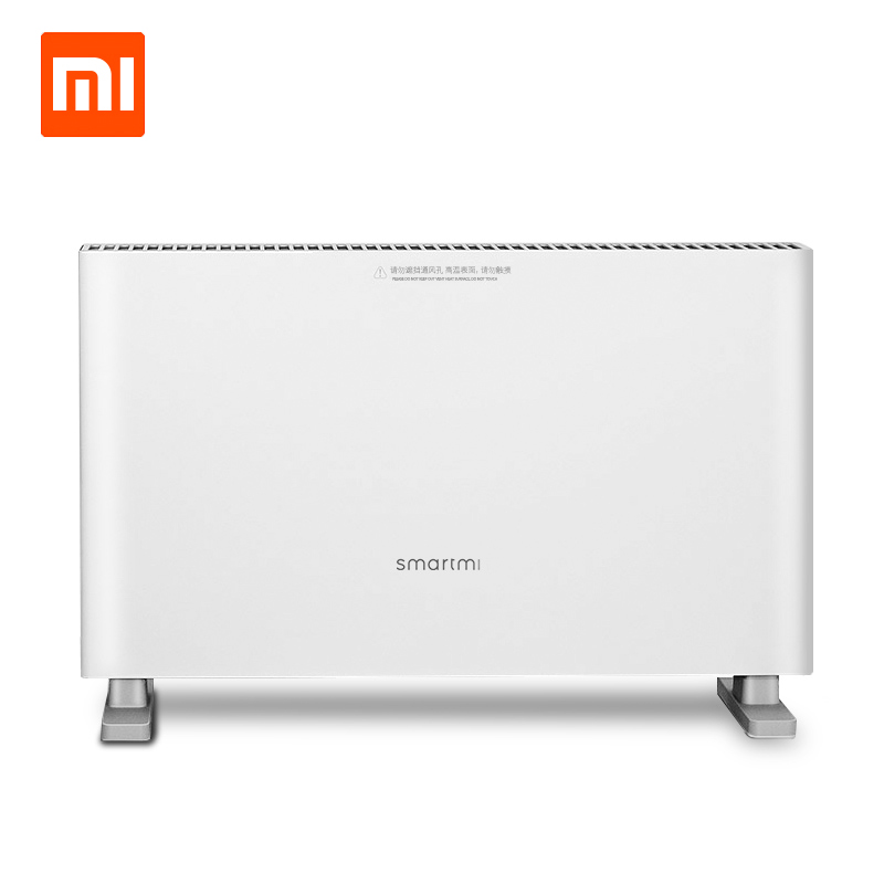 Original Xiaomi Smartmi Electric Heater Convection Heating Energy-Saving Double Protection Double Gear Design 1000W/2000W