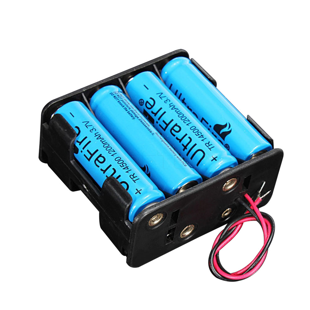 hot battery holder case 12 volt 12v battery clip slot storage holder box case 8 aa batteries. Black Bedroom Furniture Sets. Home Design Ideas