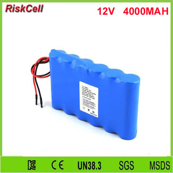 100pcs/lot  18650 11.1v Lithium Battery Rechargeable Li-ion Battery 12v 4000mah