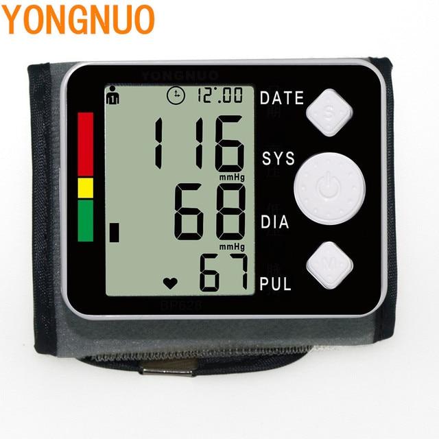 2017 цифровой измеритель артериального давления на запястье Монитор тонометр портативный автоматический тонометр для измерения Главная здравоохранения