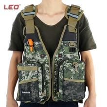 LEO Digital Aid Life Jacket Unisex Camouflage Aid Sailing Fishing Kayak Canoeing Life Jacket Vest Comfortable 2016 NEW