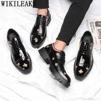 Pszczoła buty ślubne męskie buty formalne lakierki obuwie oxford buty męskie klasyczne buty chaussure homme erkek ayakkabi buty damskie