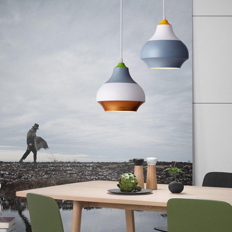 Modern Nordic Pendant Light Indoor Hanging Drop Light Contemporary Suspension Pendant Lamp Restaurant Dining Pendant Light (1)