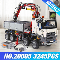 20005 2793pcs NEW LEPIN Technic Series 42023 Arocs Model Building Block Bricks Compatible With LEGOe Boys