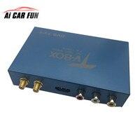 Двойной Телевизионные антенны ТВ Box SMA Порты и разъёмы цифровой HD ТВ с dvb t/DVB T2/H.264/H.265 ATSC ISDB реального высокая Скорость 160 км/ч Совместимость