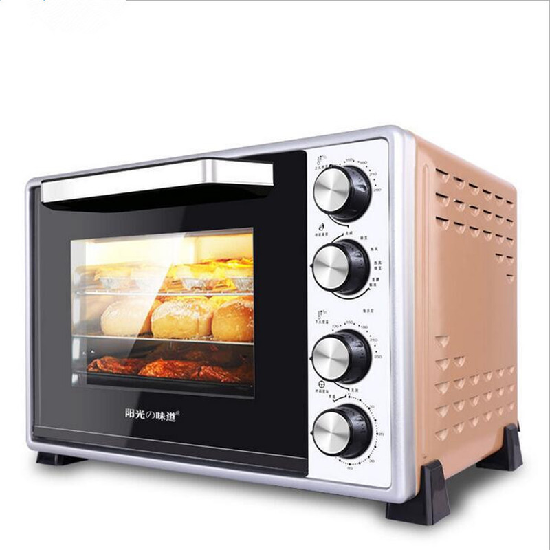 220V 40L 1500W Multi Function Electric Oven Making Bread Pizza Household  Cookies Baking Machine EU/AU/UK Plug In Ovens From Home Appliances On ...