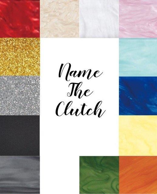2017 neue Marke Personalisierte Acryl Tasche Designer Kupplung ...