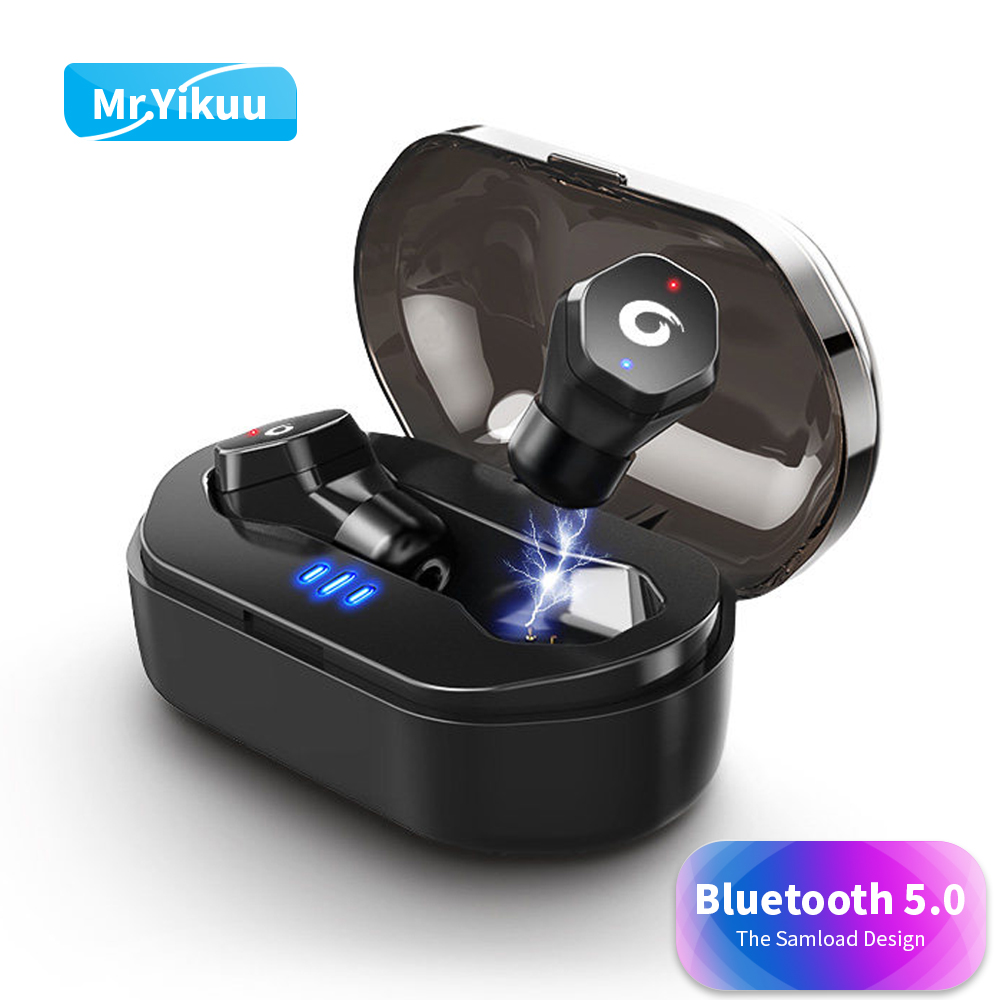 F8 Bluetooth 5.0 Earphones Mini Wireless Headphones Deep bass Headset Swimming Shower in ear Earbuds For iPhone 8 X Samsung Sony 3 5mm in ear bass headset v moda headphones hifi earbuds mobile earphones for apple samsung htc sony