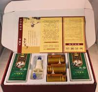 Cupping และ Moxibustion กล่องแบบพกพาเครื่องมือสูญญากาศถัง Ai รมควัน Wormwood Vurner กระป๋อง Cupping Moxibustion Moxa Rollar