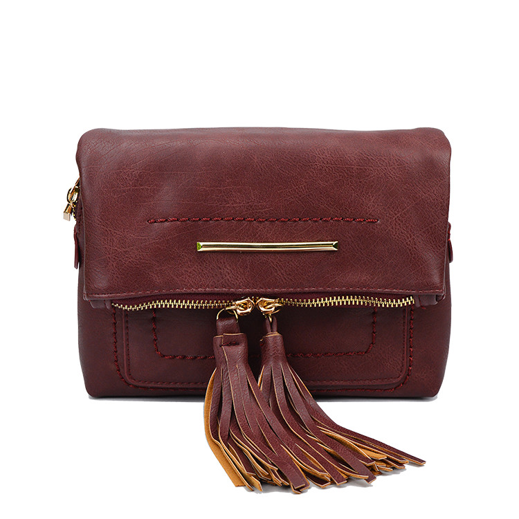 New Fashion Tassel Zipper PU Leather Famous Designer Luxury Brand Women Day Clutch Vintage Female Handbag Shoulder Crossbody Bag fashion casual michael handbag luxury louis women messenger bag famous brand designer leather crossbody classic bolsas femininas