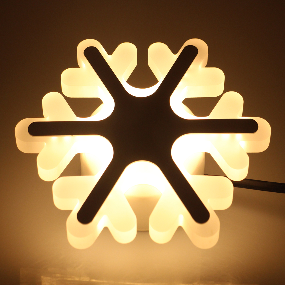Snowflake Modern 180 265V 15W Wall Lamp For Bedroom Balcony Kids ...