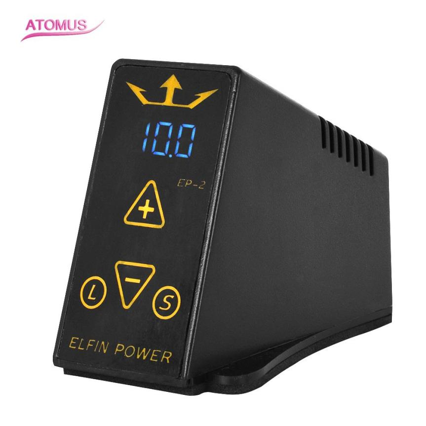 Dual Mini Digital LCD Tattoo Machine Power Supply For Tattoo Machine Foot Pedal Wholesales Dropshipping #S wholesale price foot control pedal for welding machine