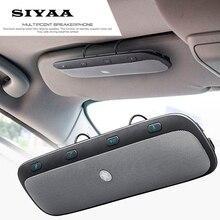 2017 Nueva TZ900 Parasol Wireless Bluetooth Car Kit Manos Libres Altavoz Del Altavoz de Música Audio Para el iphone Samsung Smartphones