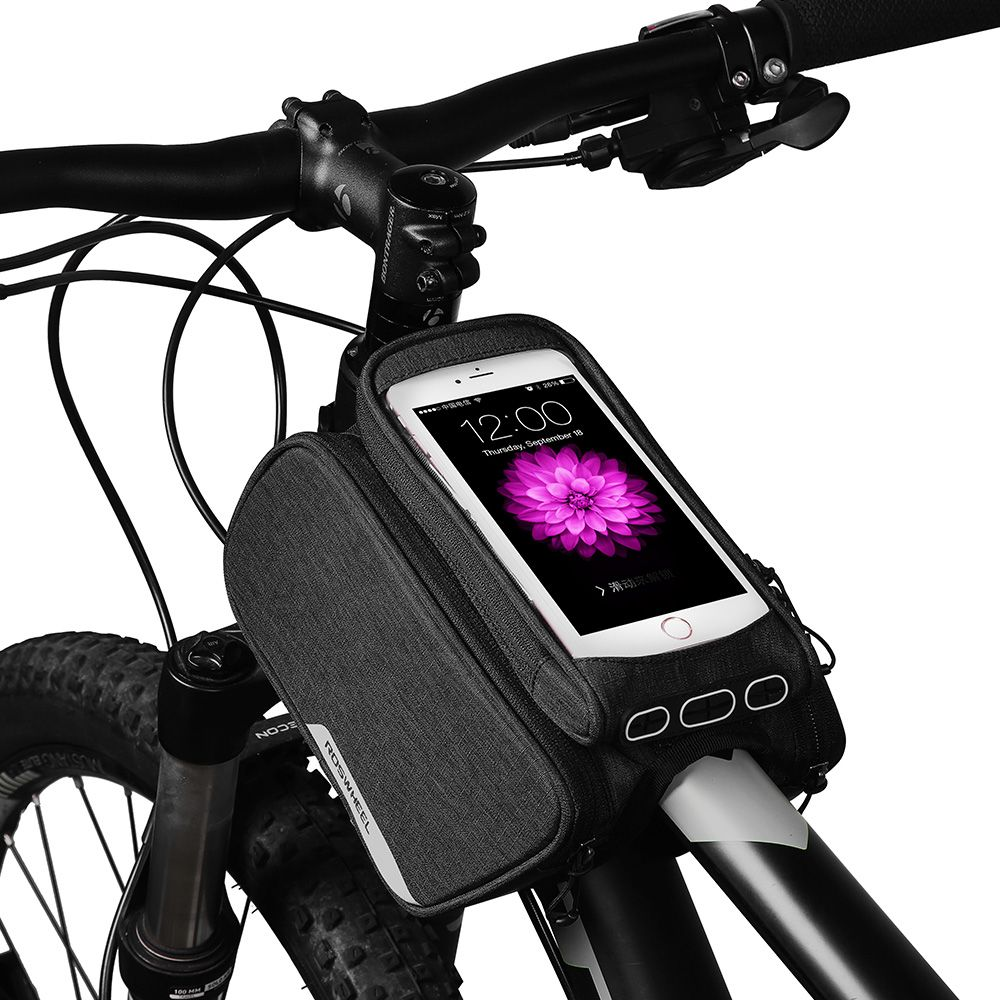 ROSWHEEL 2018 <font><b>ESSENTIAL</b></font> mtb bike top tube bag bicycle <font><b>phone</b></font> bag 1.5L cycling cycle bags bycicle accessories