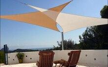 ENNJOI Sun Shelter Outdoor Anti-UV Waterproof Triangular Sun Shade Sail 3m*3m*3m Combination Shade Net Sun Shelter