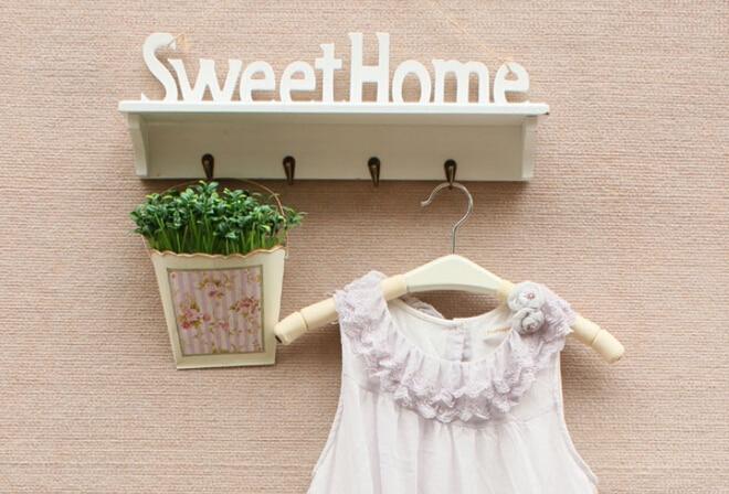 New Sweet home Rack Stands Simple modern wall shelf shelving rack hollow partition wall art decoration creative hangers