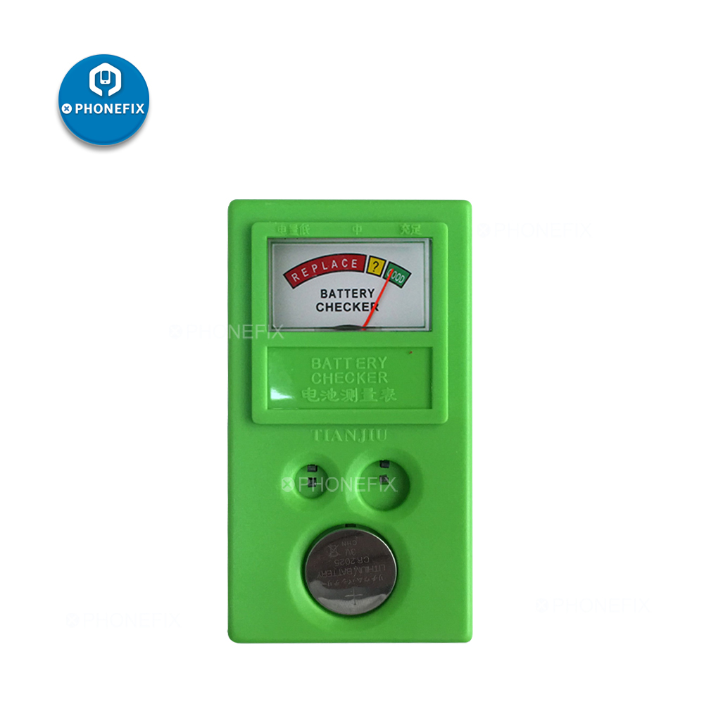 Watch Repair Tools Electronic Watch Battery Replacement Button Cell Coin Battery Power Status Tester For LR44 CR2032 CR2025
