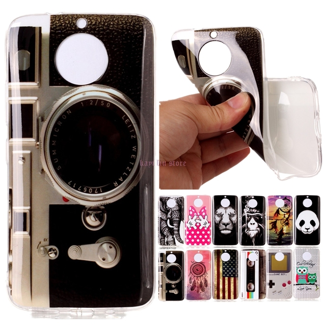 quality design fb528 6e003 US $1.74 |Retro Camera Cassette Tapes Game Machine Painting TPU Phone case  For Motorola Moto G6/G6 Plus G6Plus Soft Silicone Cover-in Half-wrapped ...