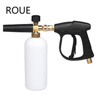 Снежная пена Лэнс пеногонная пушка инструменты автомобиля WaCar-Стайлинг Поролоновый пистолет Автомойка Jet Wash Quick Release регулируемый