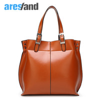 Aresland 2017 New Fashion Large Womens Tote Bags Pu Leather Vintage Women S Handbags Lady Hand