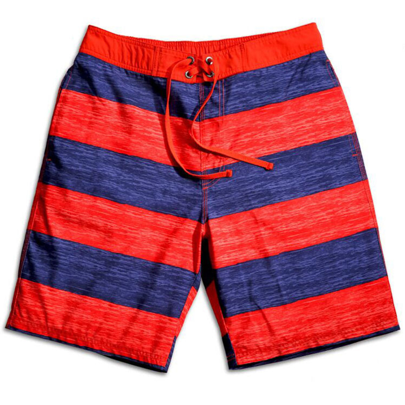 Striped Man Outdoor Quick-drying Beach Surf Shorts Mens Brand Boardshorts Stripe Swim - NewShine store