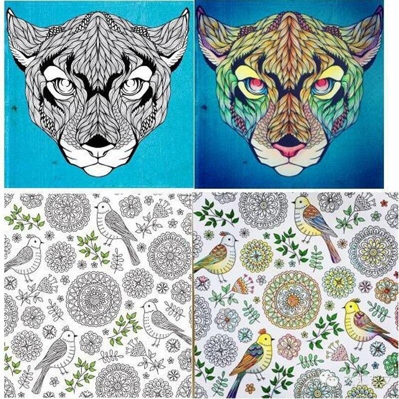Caliente! Mente Yoga terapia creativa libro para colorear para ...