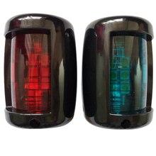 1 đôi 12 V Mềm Thuyền Du Thuyền Cổng/Mạn Phải LED Điều Hướng Đèn