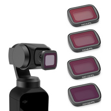 цена на DJI Osmo Pocket Camera Handheld Gimbal Camera Lens Filter DJI Osmo Pocket Accessories ND-PL ND4 + ND8 + ND16 + ND32 + CPL Filter