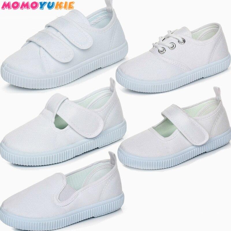 Весенняя спортивная обувь для мальчиков и девочек, Нескользящие кроссовки с мягкой подошвой, Повседневные детские кроссовки на плоской под...