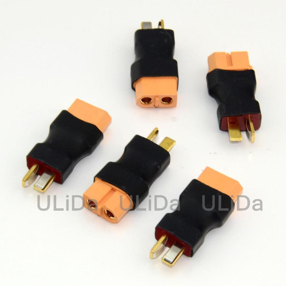 5X Deans T-stecker stecker zu XT60 buchse Lipo/NiMH Adapter Wireless