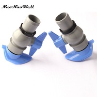 1pcs NuoNuoWell 1 5 DN40 3 2 Connector Drip Tape Fittings For Garden Greenhouse Micro Drip