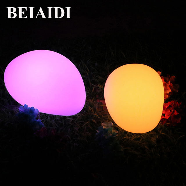 Beiaidi Rgb Led Illuminated Swimming Pool Lights Led Stone