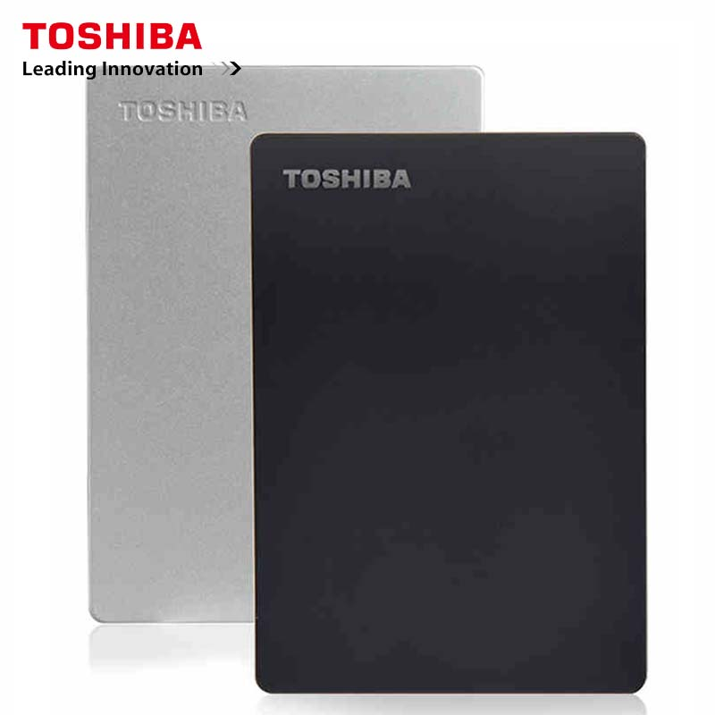 Original Toshiba Slim Series External Hard Drive Hard Disk 1TB Mobile HDD 1TB Hard Disk 2.5Inch Portable HDD 1000GB 2.5 USB 3.0(China)