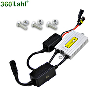 Universal AC 12V 55W Slim Xenon Bulb Lamp HID Ballast Conversion Kit Replacement For BMW Mercedes