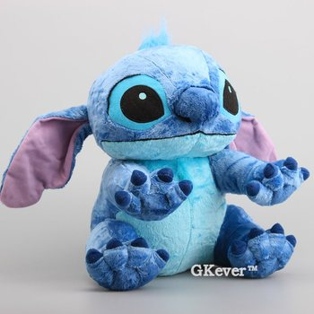 Deluce Lilo & Stitch Peluche Toy Original Stitch Soft Stuffed Dolls Fluffy Stitch Baby Toys 12