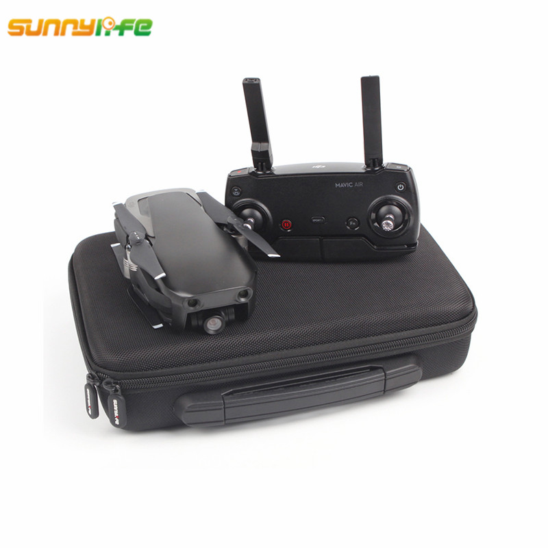 Sunnylife DJI Mavic Air Accessories Drone Handbag Body Storage PU Suitcase Oxford Portable Bag Carrying Box for DJI Mavic Air