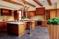 Classic Wooden Kitchen Cabinets LH SW051