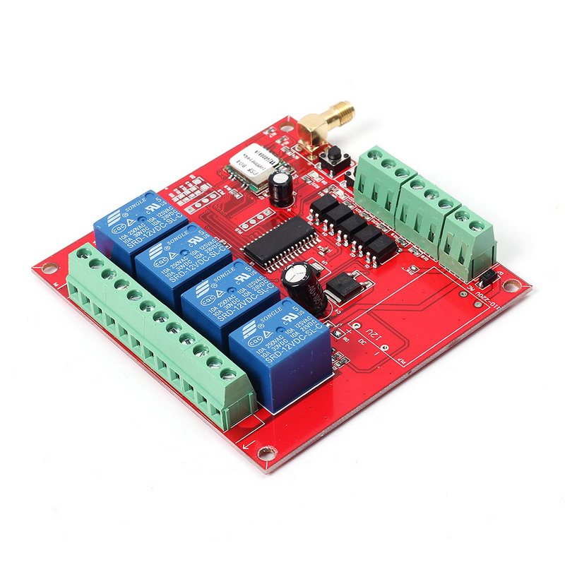 DC 9-38V Wifi Relay Switch Multi-Channel Mobile Phone Remote Control Network Relay Module With Antenna Wireless Smart Home wk4