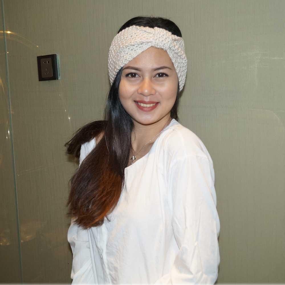 New Winter Warmer Ear Knitted Headband Turban Women Lady Crochet Bow Knot Soft Stretch Hairband Headwrap Girls Hair Accessories