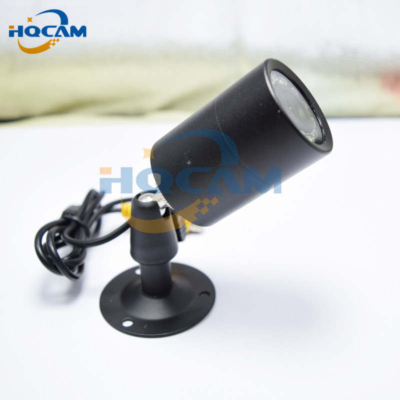 HQCAM Mini Bullet Camera Outdoor Invisible 10pcs IR 940NM Night Vision CCTV Camera Sony 480TVL Mini IR Bullet Waterproof mini cctv camera in security camera outdoor invisible 8 pcs 940nm not visible leds sony 700tvl mini bullet pen camera