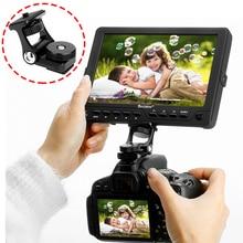 Ulanzi U 40 monitor suporte de montagem dupla moveable braços rotação 180 graus w sapata fria montagem para câmeras dslr monitor vídeo