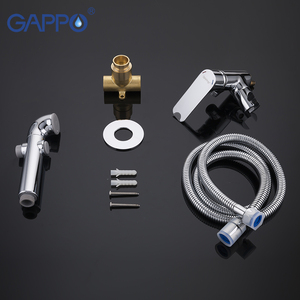 Image 5 - GAPPO Bidet Faucets muslim shower toilet bidets sprayer hygienic shower wall mount washer mixer tap
