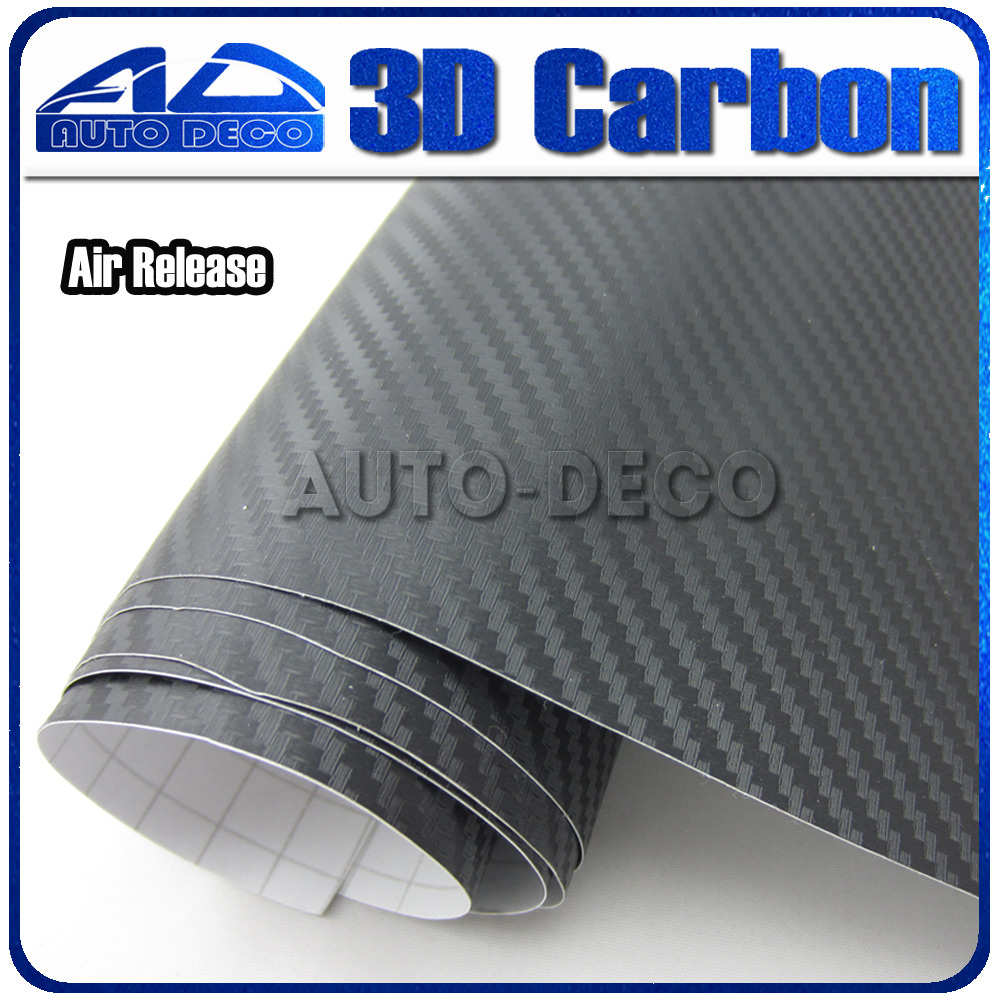 Hot Sale 3d Black Car Film Carbon Fiber Vinyl Film With Air Channel FedEx Free Shipping Size: 1.52*30m/Roll free shipping hot sale air purifier with actived carbon and anions remove dust smoke and pollutants