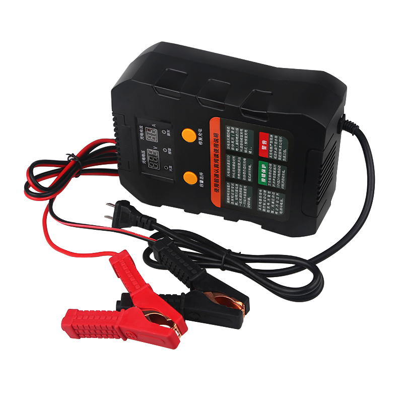 Urbanroad Universal Automatic Intelligent Pulse Battery Repair Charger 220V Vehicle Electronic Battery Charger 12V 24V Charger