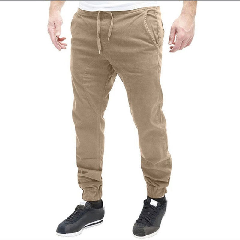 High Quality New Men Autumn and Winter 2017 Male Business Men's Trousers Straight Pants Breathable Casual Pants men clothing