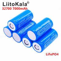 2019 neue Lii-70A LiitoKala 3,2 V 32700 6500 mah 7000 mAh batterie LiFePO4 35A 55A High Power Maximale Kontinuierliche Entladung batterie