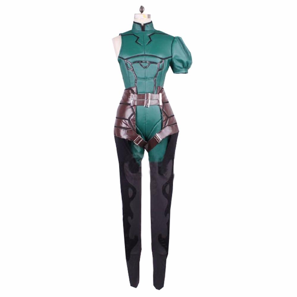 2017 Fate Zero Lancer Diarmuid Ua Duibhne Cosplay Costume
