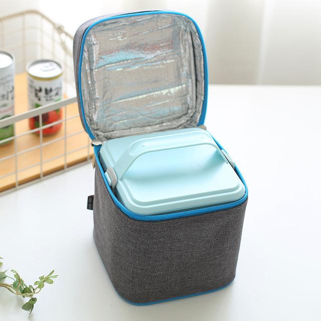 1 Conjunto Térmica Tote Almoço Isolados Saco Térmico Oxford Boxs Para Mulheres Crianças Viajar Acessórios Suprimentos de CHURRASCO Piquenique Bloco de Gelo produtos
