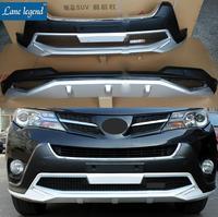 Fit For Toyota RAV4 RAV 4 2013 2015 High Quality ABS Chromed Plastic Front Rear Bumper